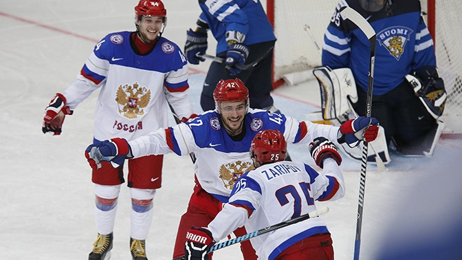 Россия 5:2 Финляндия
