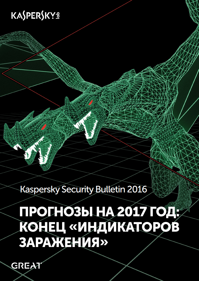 Kaspersky Security Bulletin 2016: Прогнозы на 2017 год