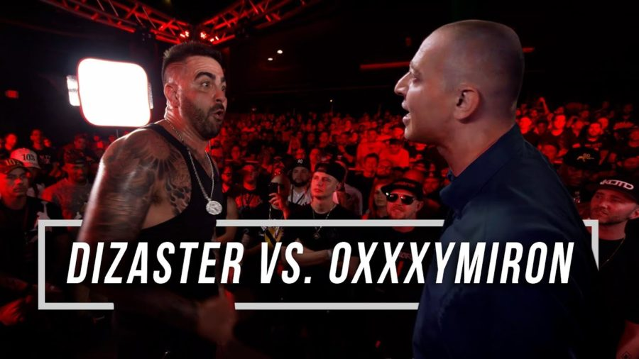 OXXYMIRON vs DIZASTER Battle (English, NSFW)