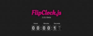 Flip Clock (FlipClock.js)